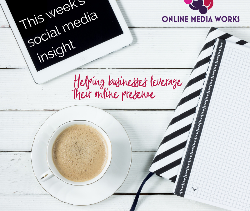 This week's Social Media Insight – What Social Media Can Do For Your Business